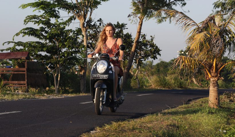 Renting and Driving a Bike in Bali