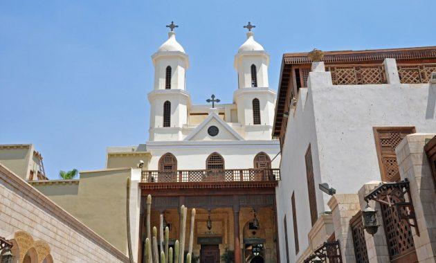 Pilns ceļvedis uz Hanguras baznīcas (El Muallaqa), Kairu