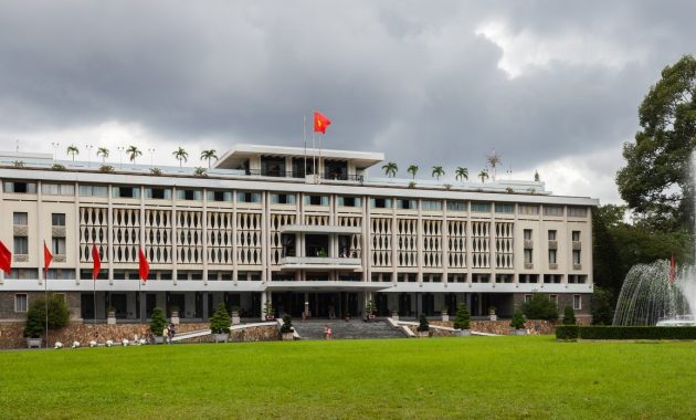 Vietnamo nepriklausomybės rūmai: Vietos karo tiesioginis pabaiga