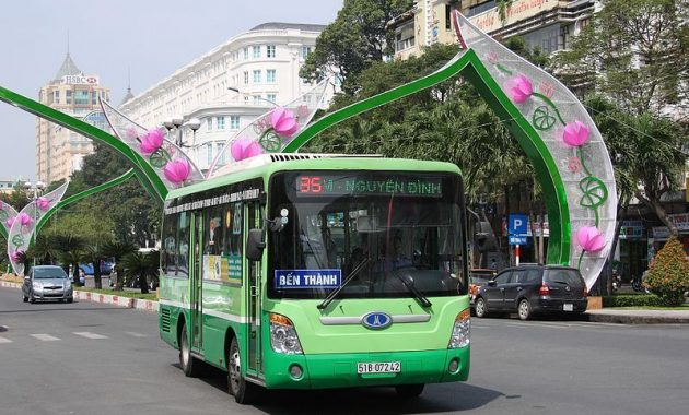 Hošiminas pilsētas sabiedriskā transporta ceļvedis