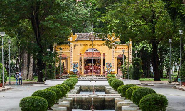 Najboljši parki v mestu Ho Chi Minh
