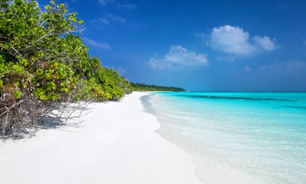 10 labākās pludmales Maldivu salās