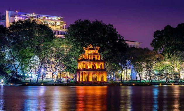 Látogatás a Hoan Kiem-tóban – Hanoi, Vietnam