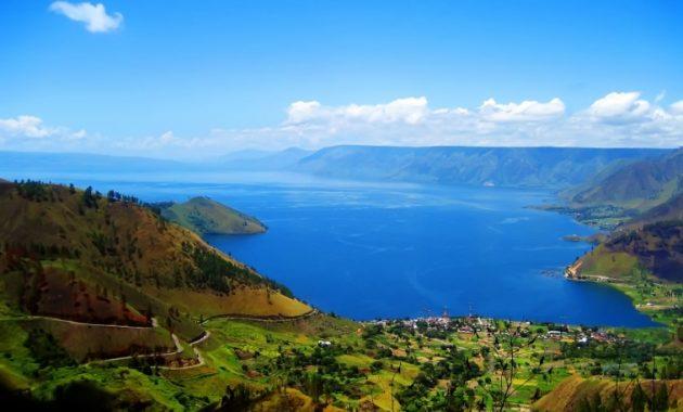 Toba-tó Szumátra Indonézia