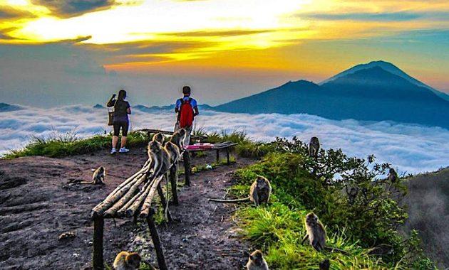 Gunung Batur escursionismo