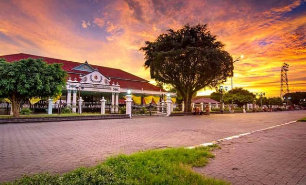 Ein Reiseführer zum Kraton Yogyakarta Royal Palace, Indonesien