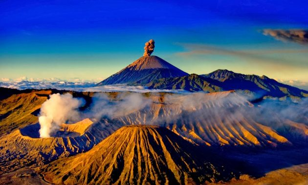 Leitfaden zum Trekking aktiver Vulkane in Indonesien