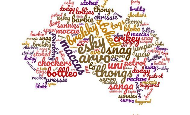 Australian sanojen ja lauseiden ymmärtäminen: Aussie Speak