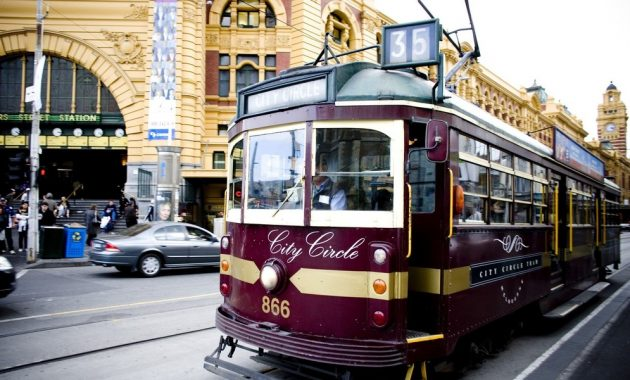 Um guia para transporte público de Melbourne